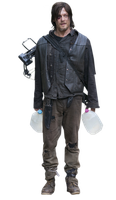 Daryl The walking dead Render by twdmeuvicio