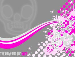 the pinky and the grey by BenTara