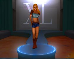 Catwalk XL Supergirl 6 by TargetView