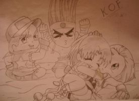 King Of Fighters by xCyhx