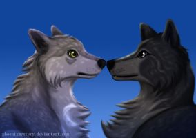 Wolf Chronicles: Kaala and Azzuen by PhoenixMystery