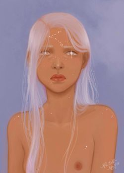 She's laced with the stars. (gif) by arcus-puera
