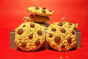 Chocolate chip cookies charms by OnegaiSweet