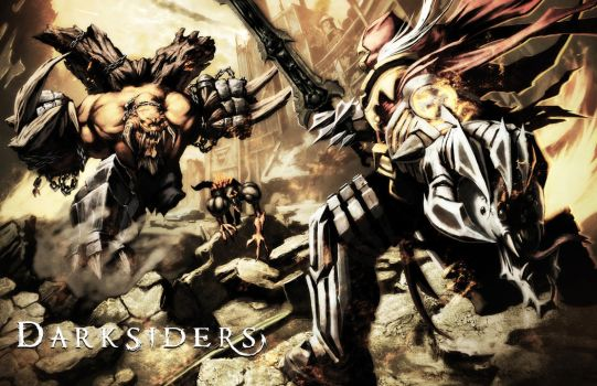 The End: Darksiders Contest by Tonywash