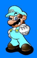 Frost Mario by deathborn88