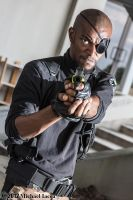Nick Fury, Agent of SHIELD 9 by Insane-Pencil