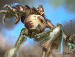 Clockwork Giant Attacks by anotherdamian
