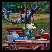 Tea, Flowers and a Show by boron