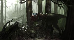 Allosaurus_1 by SADistikKnight