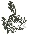 Tribal Mudkip by md427