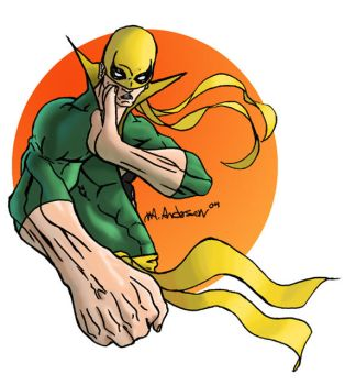 Iron Fist by blaquejag