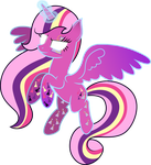 Flares Midnight: Rainbow Cutie Mark Magic Power by shaynelleLPS
