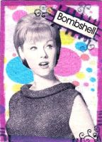 Bombshell ATC - Daily No. 8 by silentorchid