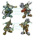 Infernal Contraption Gobbers by cwalton73