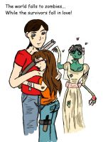 a kind of Zombie Love... by angel-chickxx