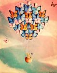Butterfly Balloon by Kstar2105