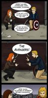 Superheroes on Speed Dial: Avengers Assemble by bluehorse-rmd