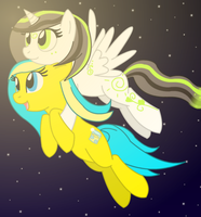 Night-Time Flight~ by LillyTheSeedrian