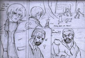 Resident Evil 4,Page1 by ViperXTR