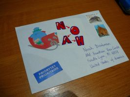 christmas card for Noah by trybit