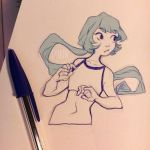 Daily Doodle - Mono by Cyarin