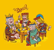Playing Cards by Brueh