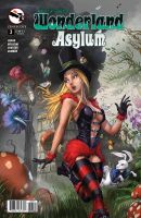 Wonderland Asylum #3 cover C by cehnot