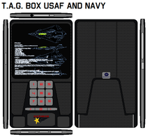 T.A.G.  BOX  USAF And  NAVY by bagera3005