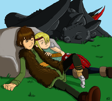 After the battle by keyblade-master-sara