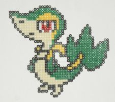Pokemon Bead: Snivy by titovn