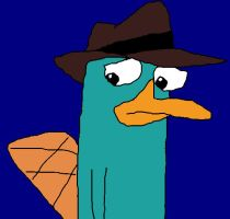 sad Perry - colored by PerryLuvr