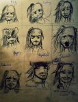 jack sparrow expressions by TheRealSexyKate