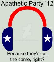 Apathetic Party 2012 by Archarugen