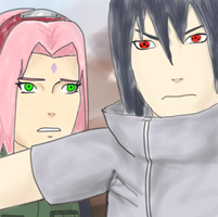 Sasuke & Sakura~ Let Me Stand Beside You by naruto3119