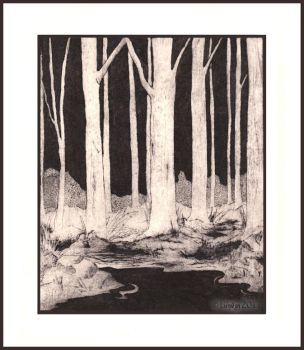 Printed Forest by Lienwyn