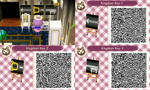 Kingdom Key QR Code by ValoriaCrossing