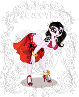 Shadow Moon: Lets Go Grooving by DeMoN8EyE