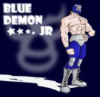 Blue Demon JR by eL-HiNO