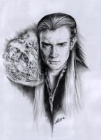 Legolas with ring by cacingkk