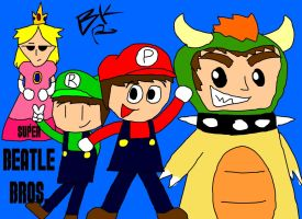Super Beatle Bros. by BlackRayquaza1