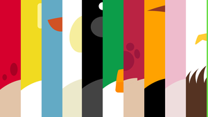 Abstract Wallpaper - Angry Birds: Birds by BirdAlliance