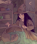 Little Witch by ChibiSo