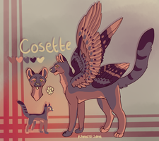 **Cosette Reference Sheet by Kama-ItaeteXIII