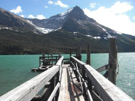 Old lake dock by nel-izabeth