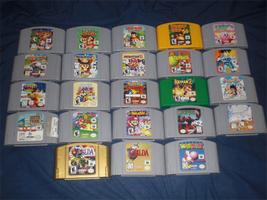 My N64 collection by Death-Driver-5000