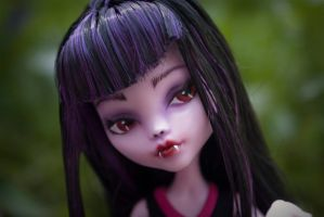 Fangloria Monster High Doll OC Repaint by Beauty-Darkly