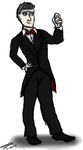 12th Doctor Tumblr Drawing Meme - Formal Gala Wear by AllysonCarver