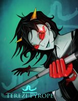 Terezi Pyrope by BlackMatter234