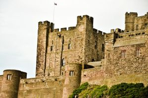 Bamburgh Castle VIII by scribbleXcore