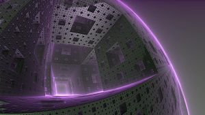 World of Tunnels and Squares - Mandlebulb 3D by darrenchadwick1311